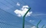 Premium Frameless Glass Barbed wire fencing
