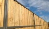 Premium Frameless Glass Lap and Cap Timber Fencing